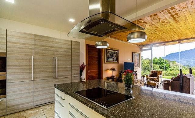 Larger Refrigerator Kitchen Remodel